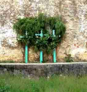 Chamula Cemetery Crosses