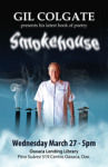 "Gil Cogate's latest book, ""SMOKEHOUSE"""